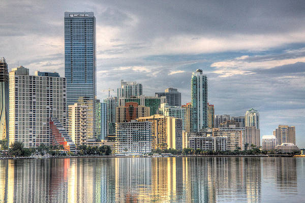 Wall Art - Photograph - City Of Miami by William Wetmore