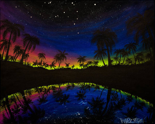 Captiva Island Painting - City Of Palms by Tripp Doogan