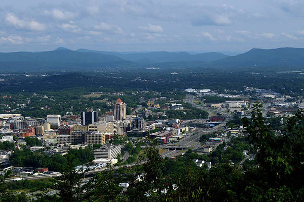 Photograph - City Of Roanoke by Karen Harrison