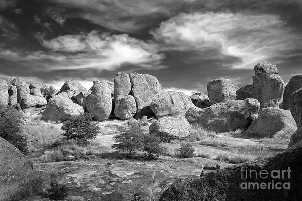 Photograph - City Of Rocks And Sky by Martin Konopacki