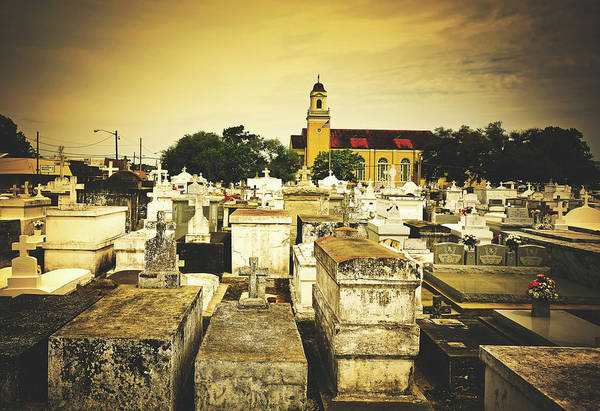 Wall Art - Photograph - City Of The Dead - New Orleans by Library Of Congress