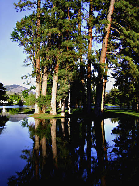 Photograph - City Park Kettle River Grand Forks Bc by Barbara St Jean