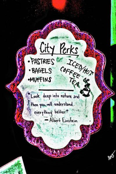 Photograph - City Perks by Gina O'Brien
