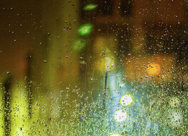 Photograph - City Rain by Bonnie Follett