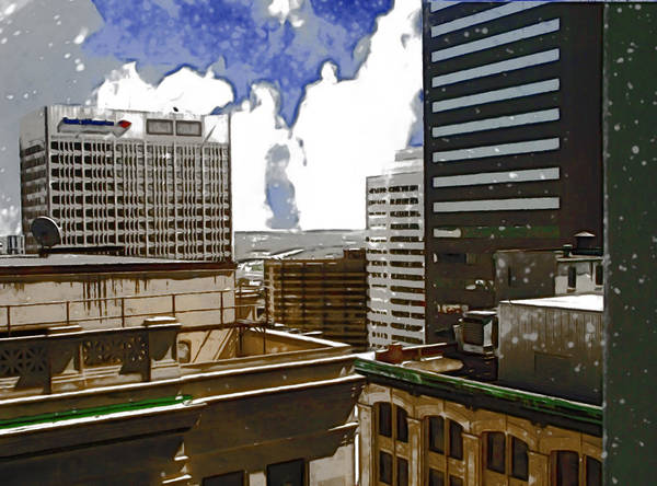 Photograph - City Skies by Paulette B Wright