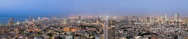 Wall Art - Photograph - City Skyline At Night by Noam Armonn