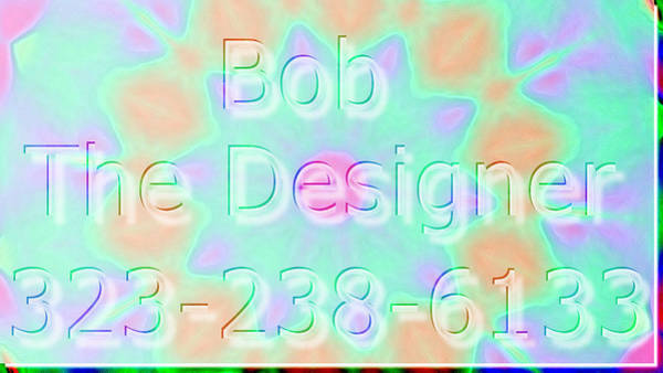 Robbie Digital Art - City Terrance Web And Graphic Design 323-238-6133 by Robbie Commerce
