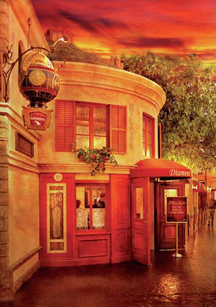 Wall Art - Photograph - City - Vegas - Paris - Vins Detable by Mike Savad