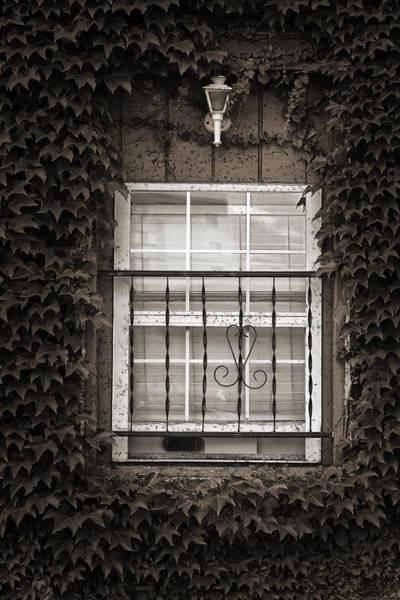 City Window Detail Art Print
