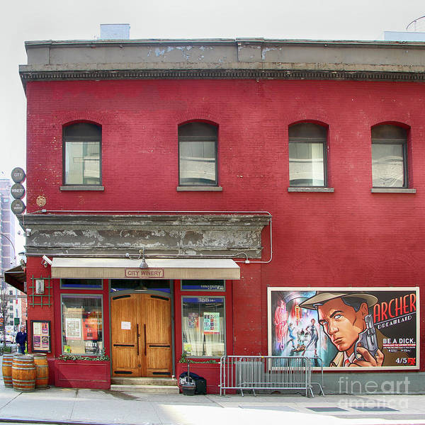 Cantina Photograph - City Winery Red Brick Building by Nishanth Gopinathan