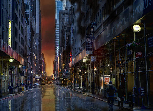 Photograph - Cityscape 22 Nyc by Evie Carrier