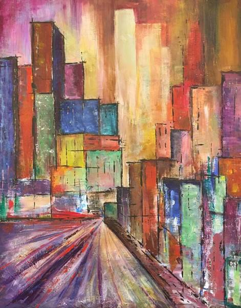Hallway Mixed Media - Cityscape by Christine Chin-Fook