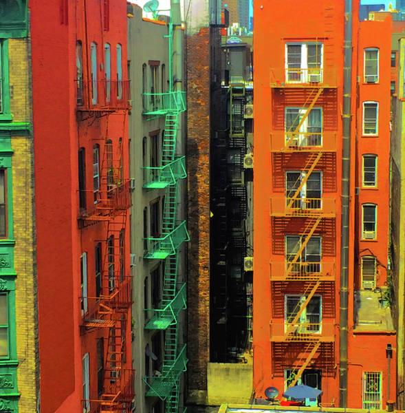 Digital Art - Cityscape by Gina Harrison