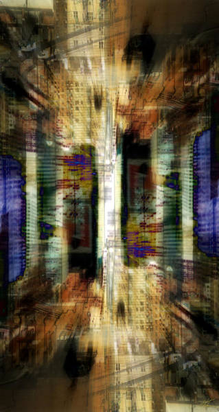 Digital Art - Cityscape by Kenneth Armand Johnson