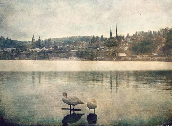 Photograph - Cityscape Of Lucerna by Vittorio Chiampan