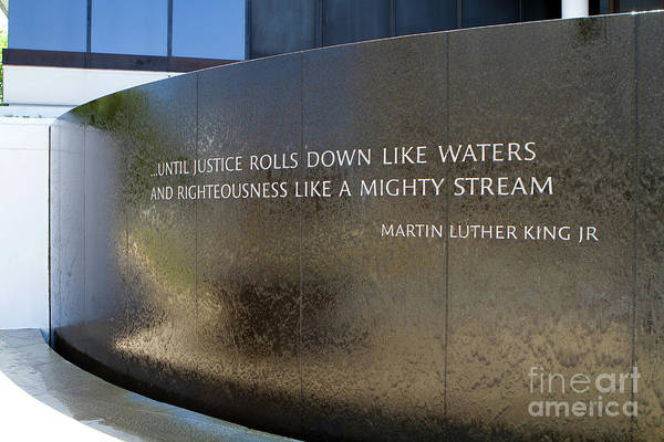 Photograph - Civil Rights Memorial by Steven Frame