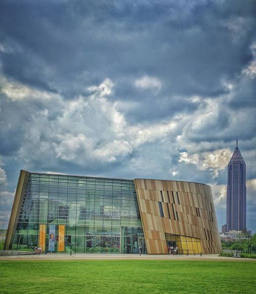 Photograph - Civil Rights Museum by Mike Dunn