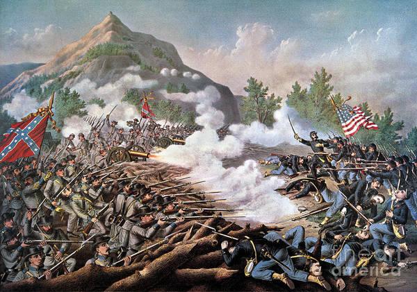 Allison Photograph - Civil War, 1864 by Granger