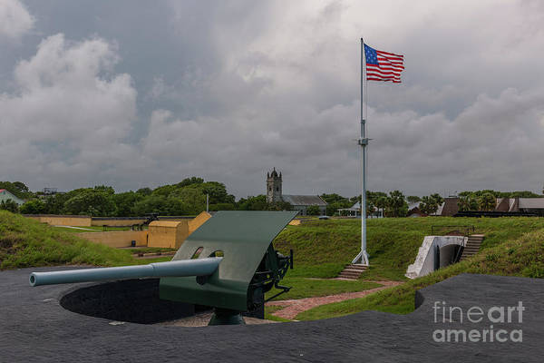Photograph - Civil War Battery by Dale Powell