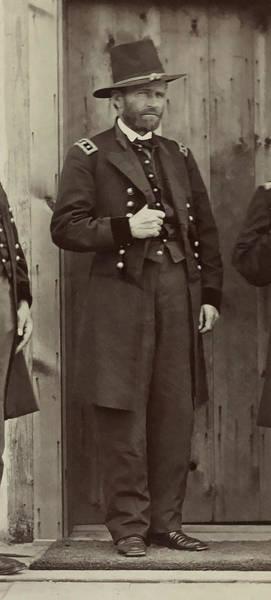 Wall Art - Photograph - Civil War General U. S. Grant by Daniel Hagerman