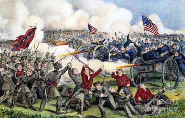 Wall Art - Photograph - Civil War: Gettysburg, 1863 by Granger