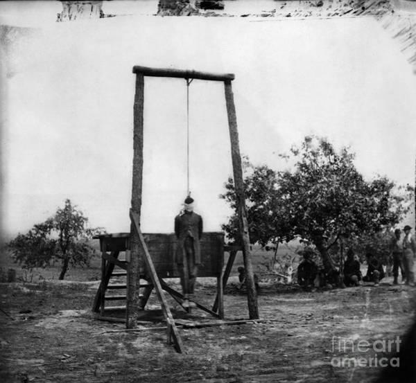 Photograph - Civil War: Hanging, 1864 by Granger