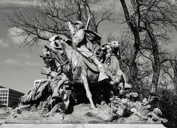 Photograph - Civil War Memorial by Brandon Bourdages