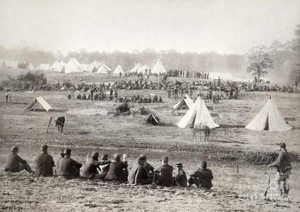Wall Art - Photograph - Civil War: Prisoners, 1864 by Granger
