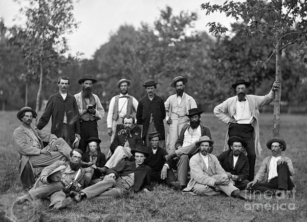 Mathew Photograph - Civil War: Scouts & Guides by Granger
