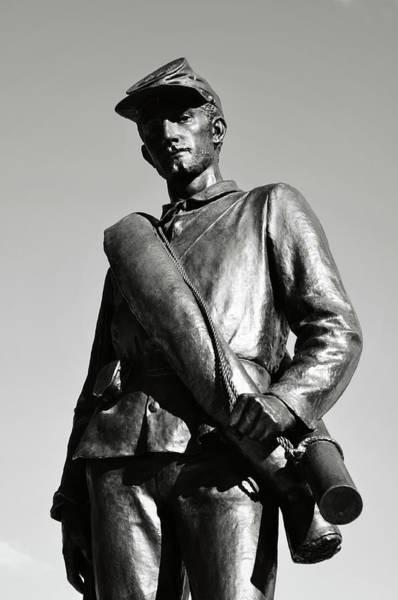 Photograph - Civil War Soldier by Brandon Bourdages