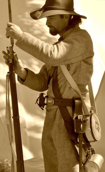 Civil War Soldier Art Print