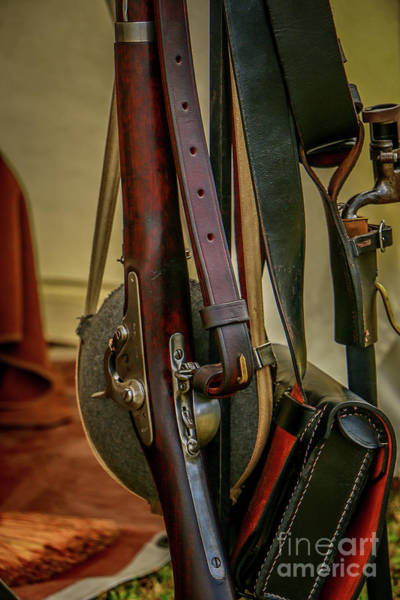 Photograph - Civil War Tools Of The Trade by Tom Claud