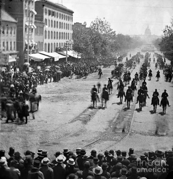 Mathew Photograph - Civil War: Union Army by Granger