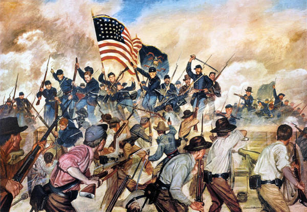 1863 Photograph - Civil War: Vicksburg, 1863 by Granger