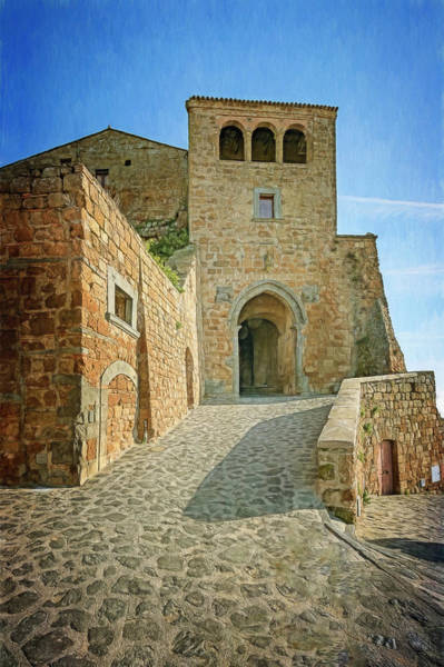 Wall Art - Photograph - Civita Di Bagnoregio Italy Gateway by Joan Carroll