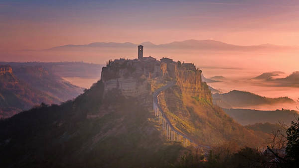 Photograph - Civita Di Bagnoregio Italy by Joan Carroll