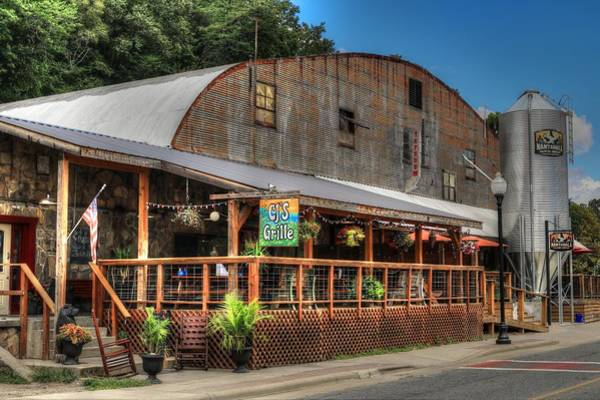 Photograph - Cj's And Nantahala Brewing Company In Bryson City North Carolina by Carol Montoya