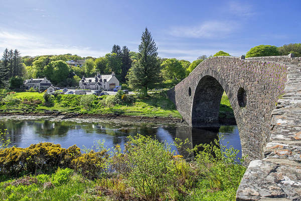 Photograph - Clachan Bridge, Scotland by Arterra Picture Library