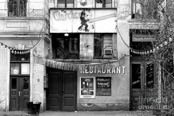 Wall Art - Photograph - Claerchen's Ballhaus In Berlin by John Rizzuto