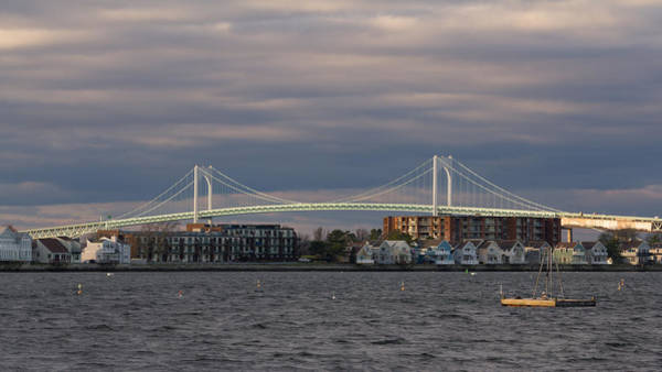 Photograph - Claiborne Pell Newport Bridge by Kirkodd Photography Of New England