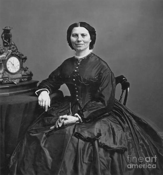 Photograph - Clara Barton (1821-1912) by Granger