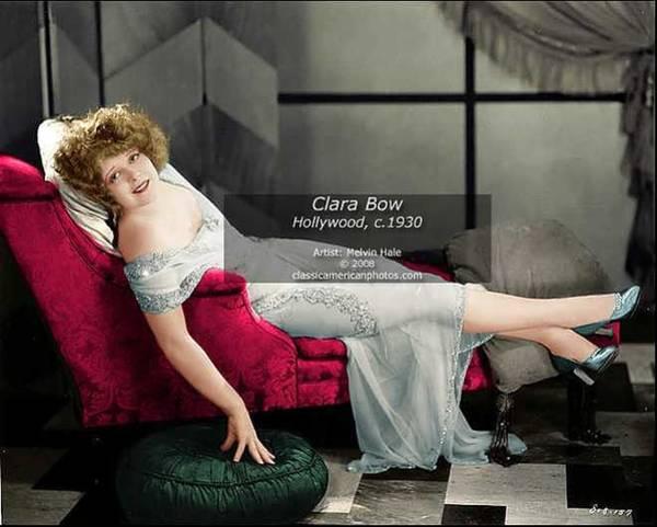 Wall Art - Painting - Clara Bow - Hollywood Circa 1930 by Melvin Hale