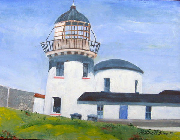 Painting - Clare Island Lighthouse by Kathleen Barnes