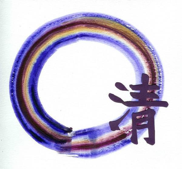 Chinese Buddha Painting - Clarity by Ellen Miffitt