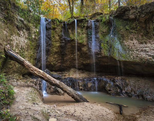 Photograph - Clark Creek Waterfall No. 1 by Andy Crawford
