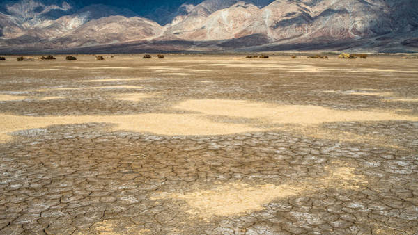 Photograph - Clark Dry Lake by Shuwen Wu