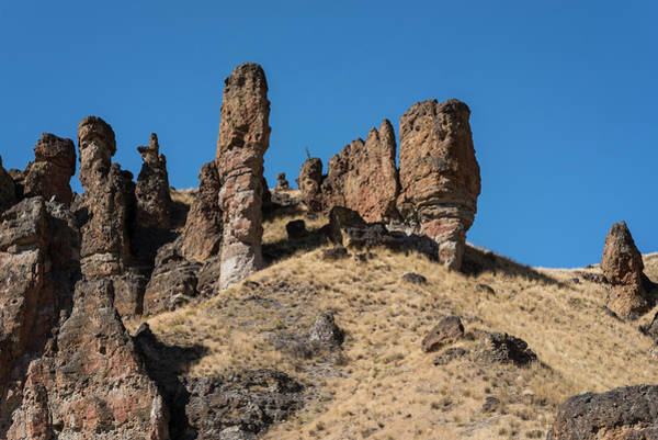 Photograph - Clarno Spires by Robert Potts