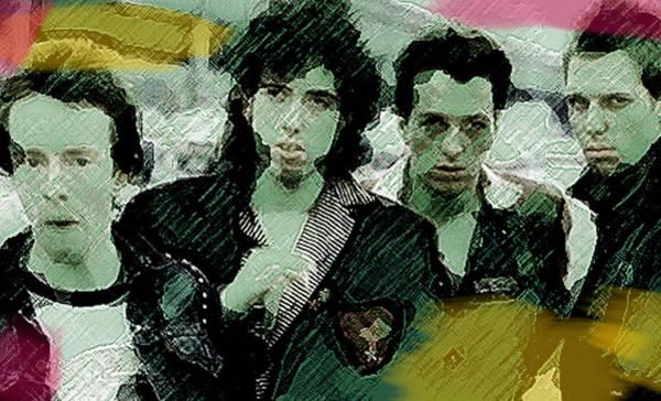 Iggy Pop Painting -  Clash City Rockers  by Enki Art