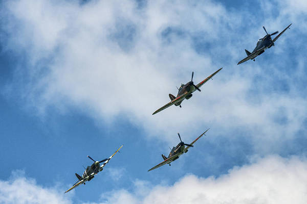 Photograph - Clasic Birds Of Ww2 by Cliff Norton