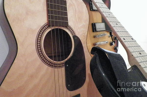 Fret Board Photograph - Classic Acoustic by Gina Sullivan